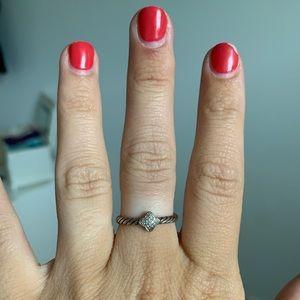 David Yurman thin ring